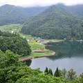 Photos: 野尻湖と棚田