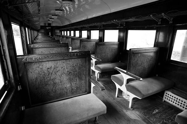 日中線記念館 旧熱塩駅 客車
