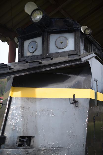 日中線記念館 旧熱塩駅 ラッセル車