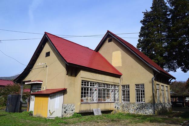 日中線記念館 旧熱塩駅舎