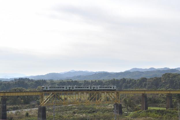 磐越西線 一の戸橋梁