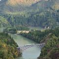 只見線 第一橋梁俯瞰