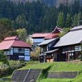 Photos: 会津 沼沢湖付近の集落