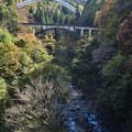 Photos: 会津宮下 アーチ橋