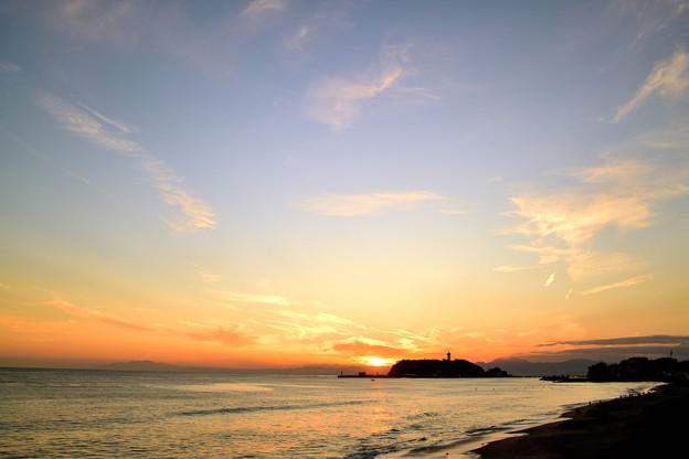 江ノ島 夕景