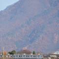 鉄橋と電車