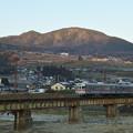 Photos: 夜間瀬橋を渡る