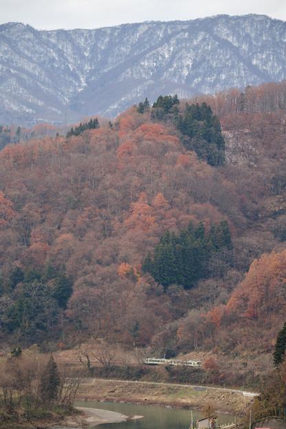 冬と秋の隙間