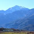 小海線と甲斐駒ケ岳