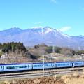 Photos: 八ヶ岳とE353系中央線特急あずさ号