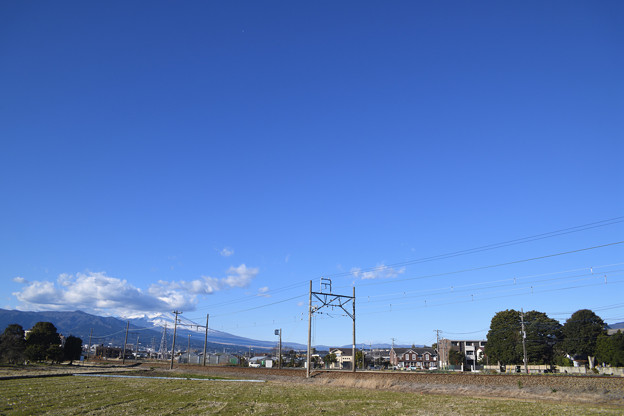 富士山周辺以外は快晴