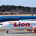 Photos: タイライオン航空とベトナム航空の並び