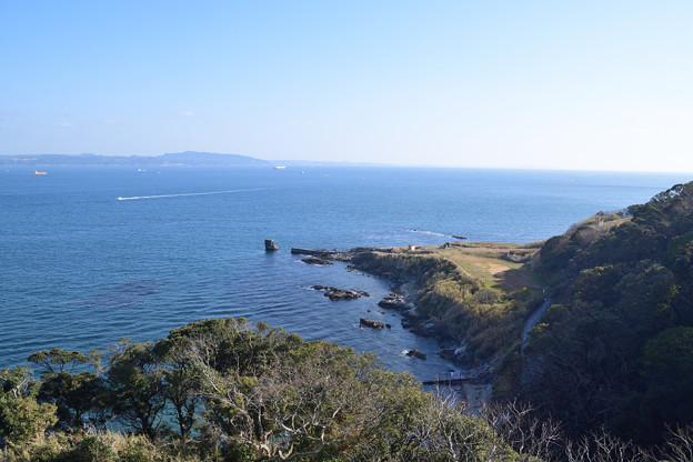浦賀水道を望む