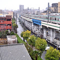 Photos: 3月の降雪と東京メトロ千代田線05系電車