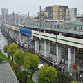 Photos: 3月の降雪と東京メトロ千代田線16000系電車