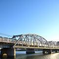 Photos: 堀切橋を渡る電車