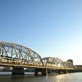 Photos: 堀切橋を渡るスカイライナー