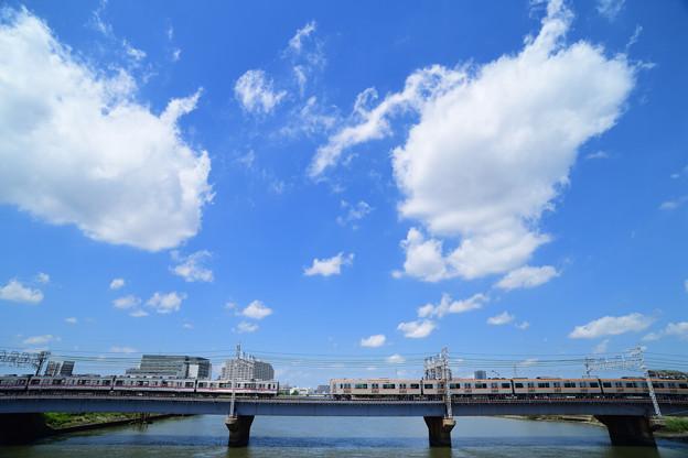 京成電鉄 3100形 3500形 すれちがい