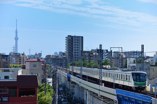 Photos: スカイツリーと16000系電車