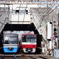 北総鉄道9000形と京急の並び