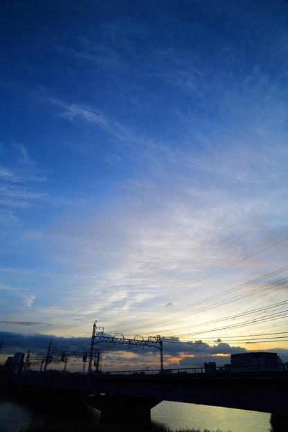 絵に描いたような空