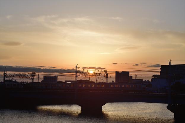 Photos: 夕焼け電車