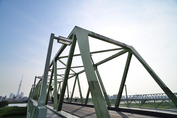 木根川橋(四つ木方から)