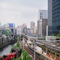 聖橋から神田川を望む