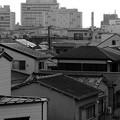 Photos: 銭湯の煙突を望む住宅街