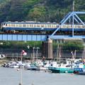 Photos: 湊川を渡る113系普通電車