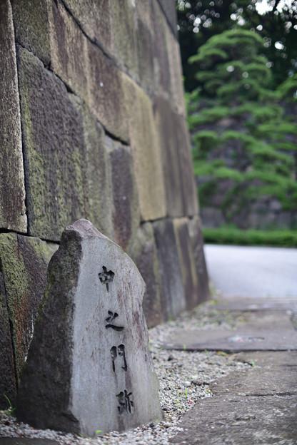 Photos: 中雀門跡