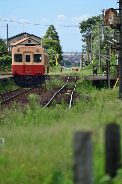 交換列車待ち