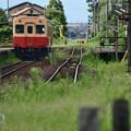 Photos: 交換列車待ち