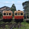 Photos: 交換列車到着