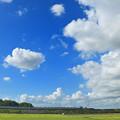 Photos: 青空の境界を行く