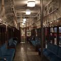 旧型国電車内