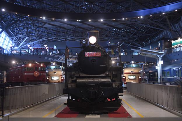 Photos: C57蒸気機関車