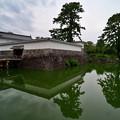 銅門と住吉橋