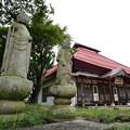 Photos: 地蔵とお寺