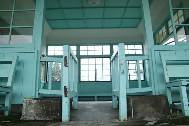 中塩田駅 モノトーン