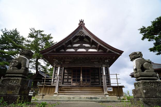 三厩 義経寺
