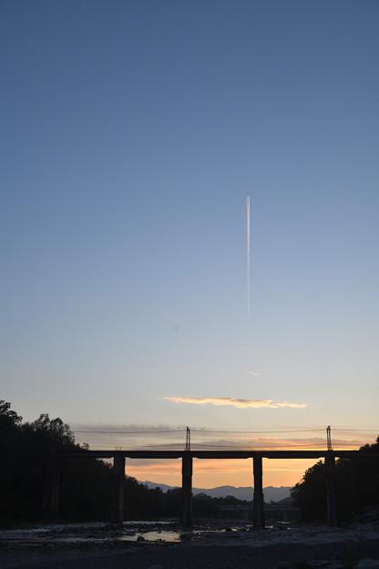 飛行機雲 1