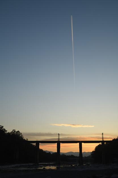 飛行機雲 2