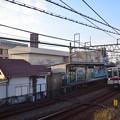 堀切駅と10000型電車
