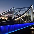 清洲橋 ライトアップ