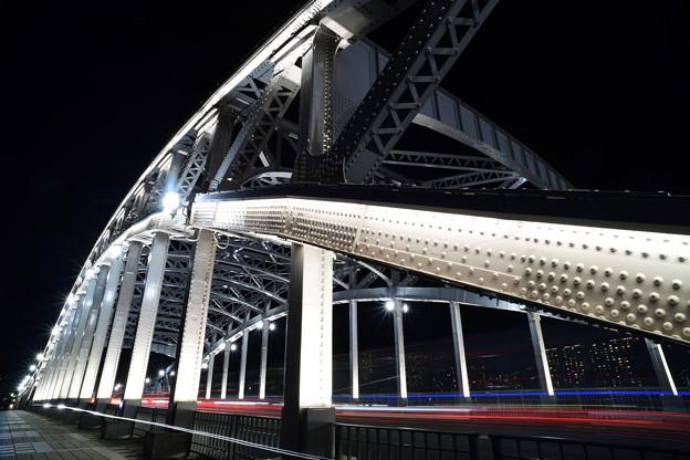 Photos: 白鬚橋 夜景