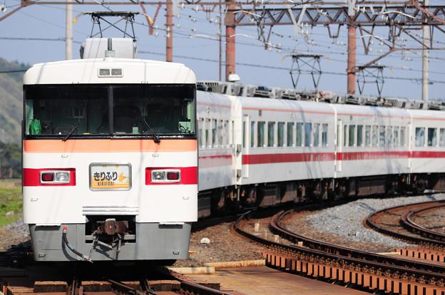 きりふり号 日光線 東武日光駅