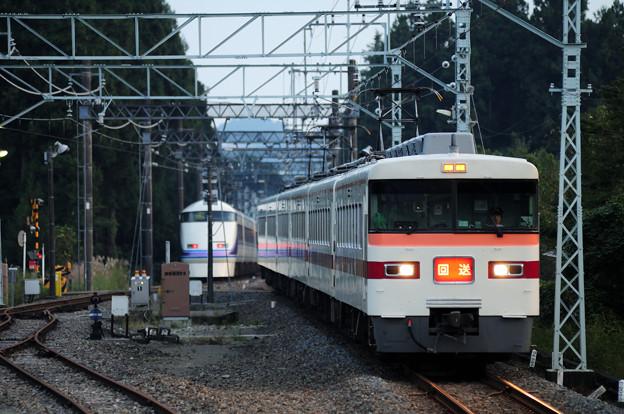 Photos: きりふり号 日光線 板荷駅