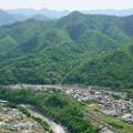 Photos: 中央線 岩殿山俯瞰 猿橋方面を望む