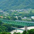 Photos: 鳥澤鉄橋を渡る115系電車